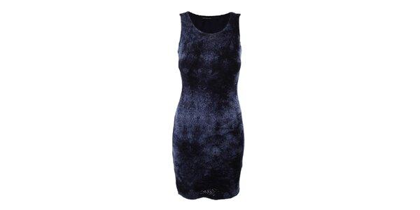 Dámské tmavě modré perforované šaty Angels Never Die