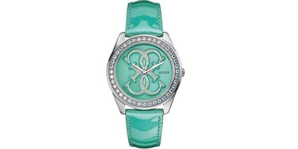 Dámské tyrkysové hodinky Guess