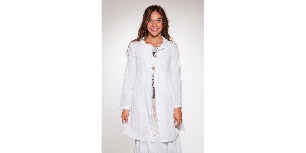 Dámský bílý kabátek Ian Mosh