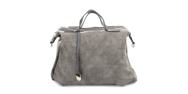 Dámská perforovaná kabelka na zip Bessie
