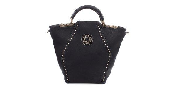 Dámská černá kabelka s dekorativními prvky Bessie