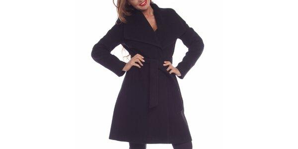Dámský černý kabát Vera Ravenna