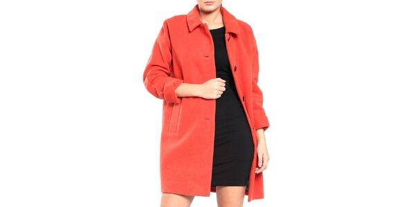 Dámský oranžový retro kabát Vera Ravenna