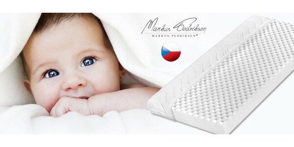 Dětská ortopedická matrace české výroby