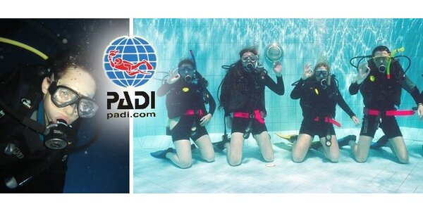 449 Kč za dvouhodinový zkušební potápěčský ponor s instruktorem!