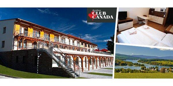 Prožijte podzimní víkend na Lipně v Rezidnece Club Canada