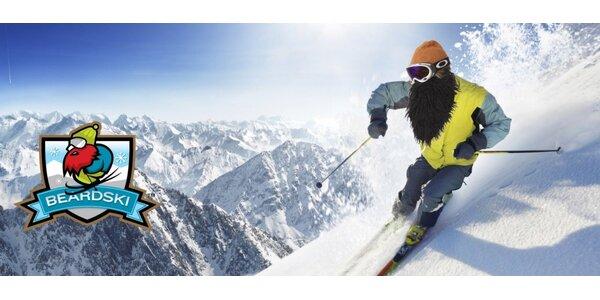 Stylové lyžařské a snowboardové masky Beardski vč. poštovného