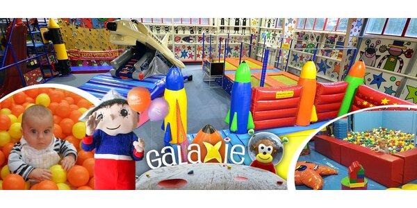 Rodinné vstupné do zábavního parku Galaxie