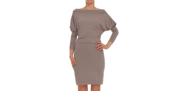 Dámské šedé šaty Yuliya Babich