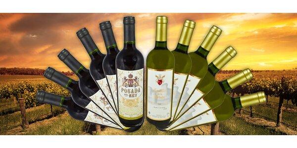 Kolekce 12 španělských vín Posada a Castillo
