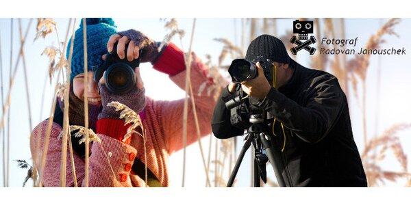 Fotografické kurzy – úvod do focení či portrét