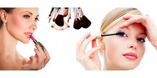 8hodinový kurz líčení - Naučte se zdůraznit své půvaby