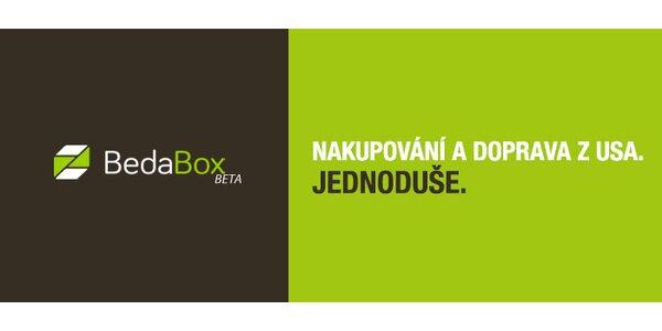 Kredit na služby BedaBox – nákup a dovoz zboží z USA!