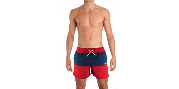 Červenomodré plavky Mosmann