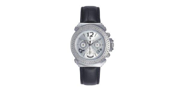 Dámské hodinky s krystaly a perleťovým ciferníkem Lancaster