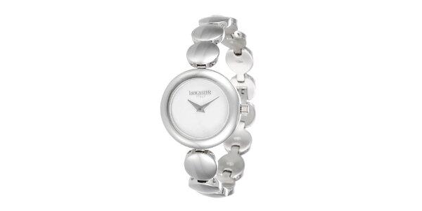 Dámské minimalistické hodinky ve stříbrném tónu Lancaster