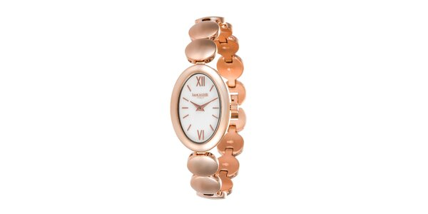 Dámské růžově zlaté hodinky Lancaster