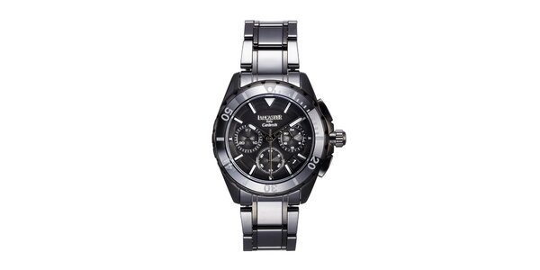 Dámské černé keramické hodinky Lancaster