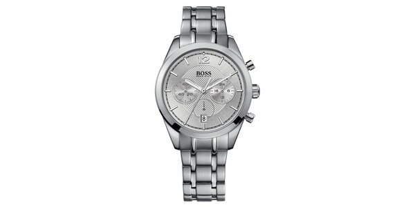 Pánské ocelové hodinky s chronografem Hugo Boss