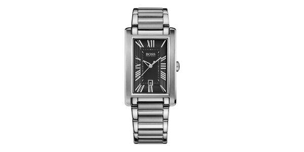 Pánské hodinky s obdélníkovým ciferníkem Hugo Boss