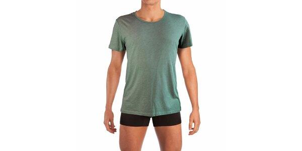 Zelené pánské tričko Mossman