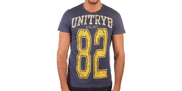 Pánské tričko s potiskem Unitryb