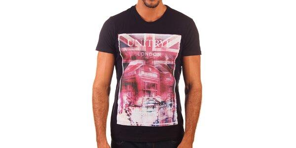 Pánské tričko s britským motivem Unitryb