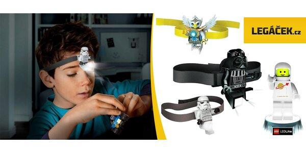 LEGO® lampička či LED čelovky Star Wars a Chima