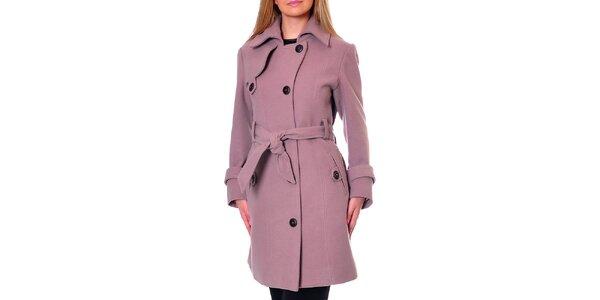 Dámský růžový kabát Daka