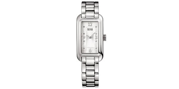Dámské hodinky s obdélníkovým ciferníkem Hugo Boss