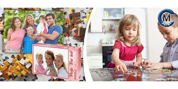 Puzzle s vlastní fotkou včetně poštovného