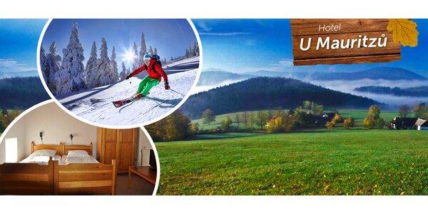 Šumavská pohodová lyžovačka s bio polopenzí