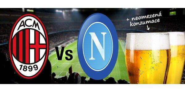 Zájezd na zápas AC Milán vs SSC Neapol. Termín zájezdu již 13.-15.12.2014