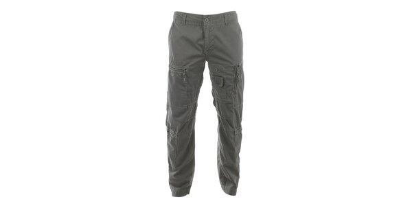 Pánské kalhoty se spoustou kapes Aeronautica Militare