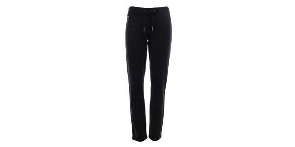 Dámské černé teplákové kalhoty Aeronautica Militare