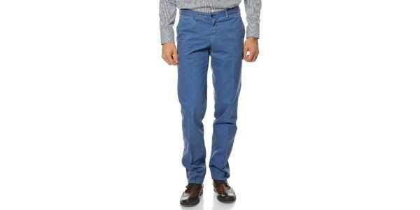 Pánské modré kalhoty Uomini Italiani