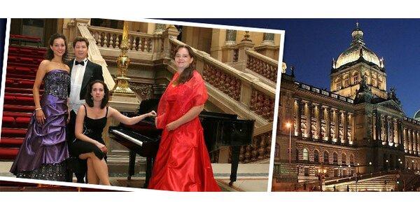 Výběr z 11 koncertů vážné hudby v Národním muzeu