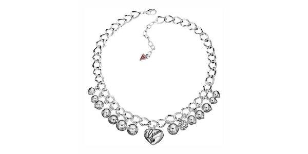 Dámský náhrdelník s přívěsky Guess
