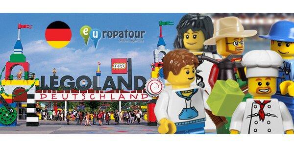 Legoland v Německu - doprava i vstupné na celý den