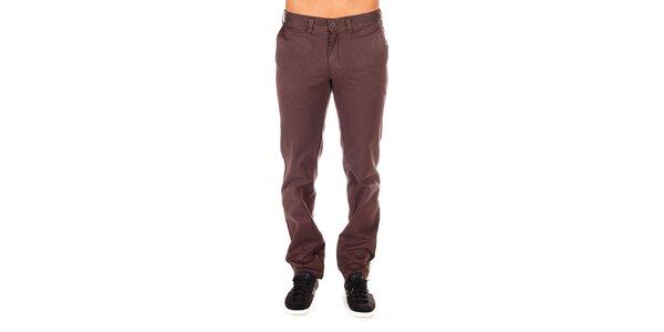 Pánské čokoládové chino kalhoty Bendorff