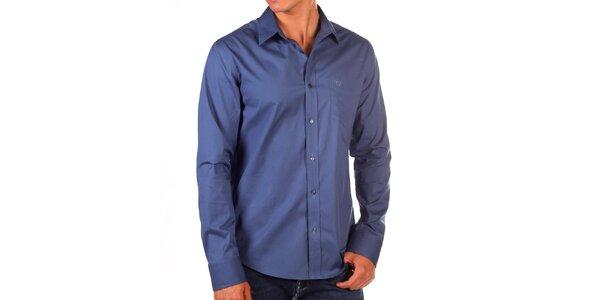 Pánská tmavomodrá košile Bendorff