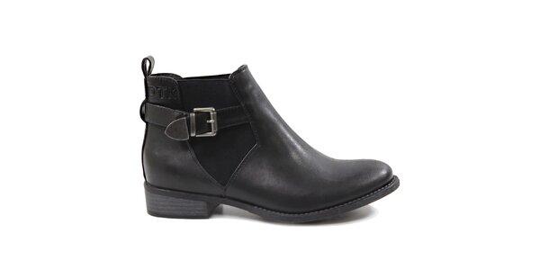 Dámské kotníčkové boty s přezkou Drastik