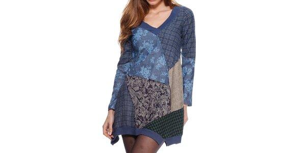 Dámské patchworkové šaty Kool