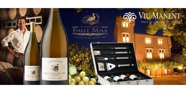 Vše pro milovníky osobitých vín a grilování