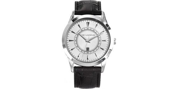 Pánské ocelové hodinky s bílým ciferníkem Ted Lapidus