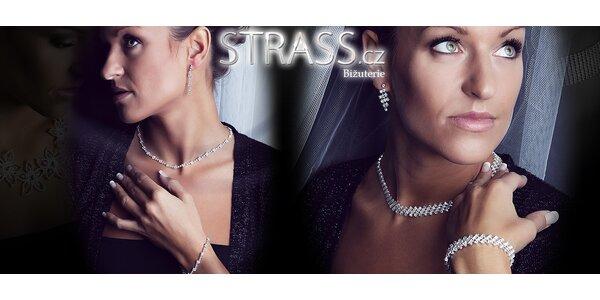 Sady šperků s třpytivými krystaly Preciosa