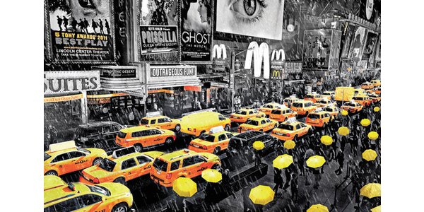 Žluté taxíky