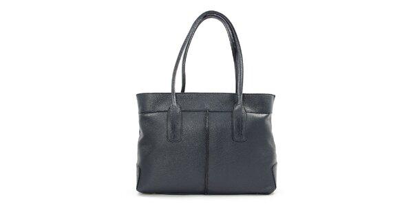 Dámská tmavomodrá obdélníková kabelka Kreativa bags