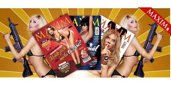 Předplatné časopisu Maxim na 6 měsíců