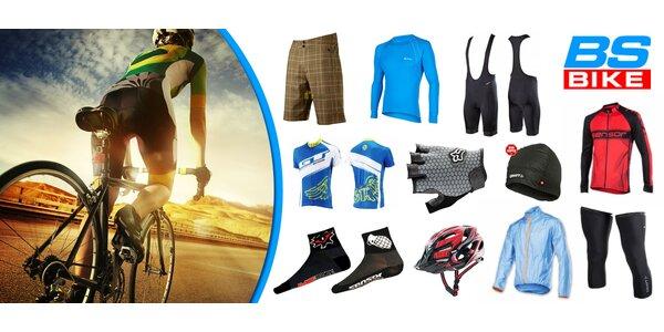 45% sleva na nákup cyklovýbavy v BS Bike